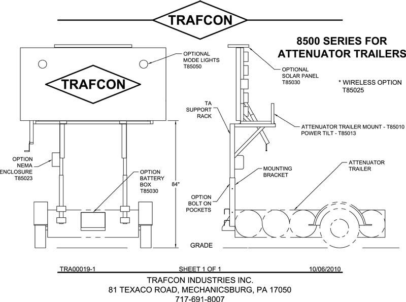 Tma Truck Mounted Crash Attenuators Wele To Trafcon. Tra000191 Model 1. Wiring. Arrow Board Wiring Diagram At Scoala.co